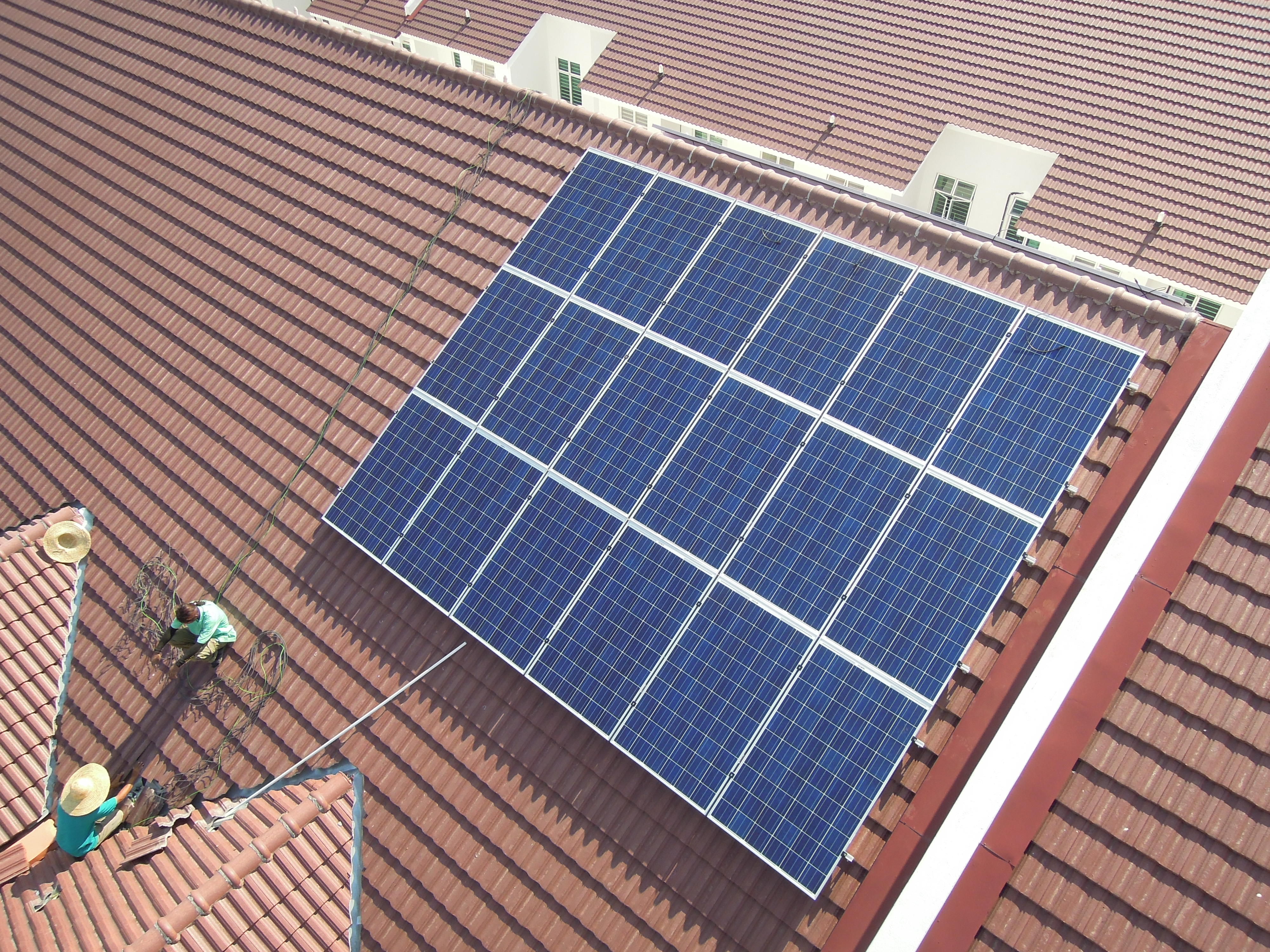 Solar Roof Residential Balik Pulau Penang 10kW