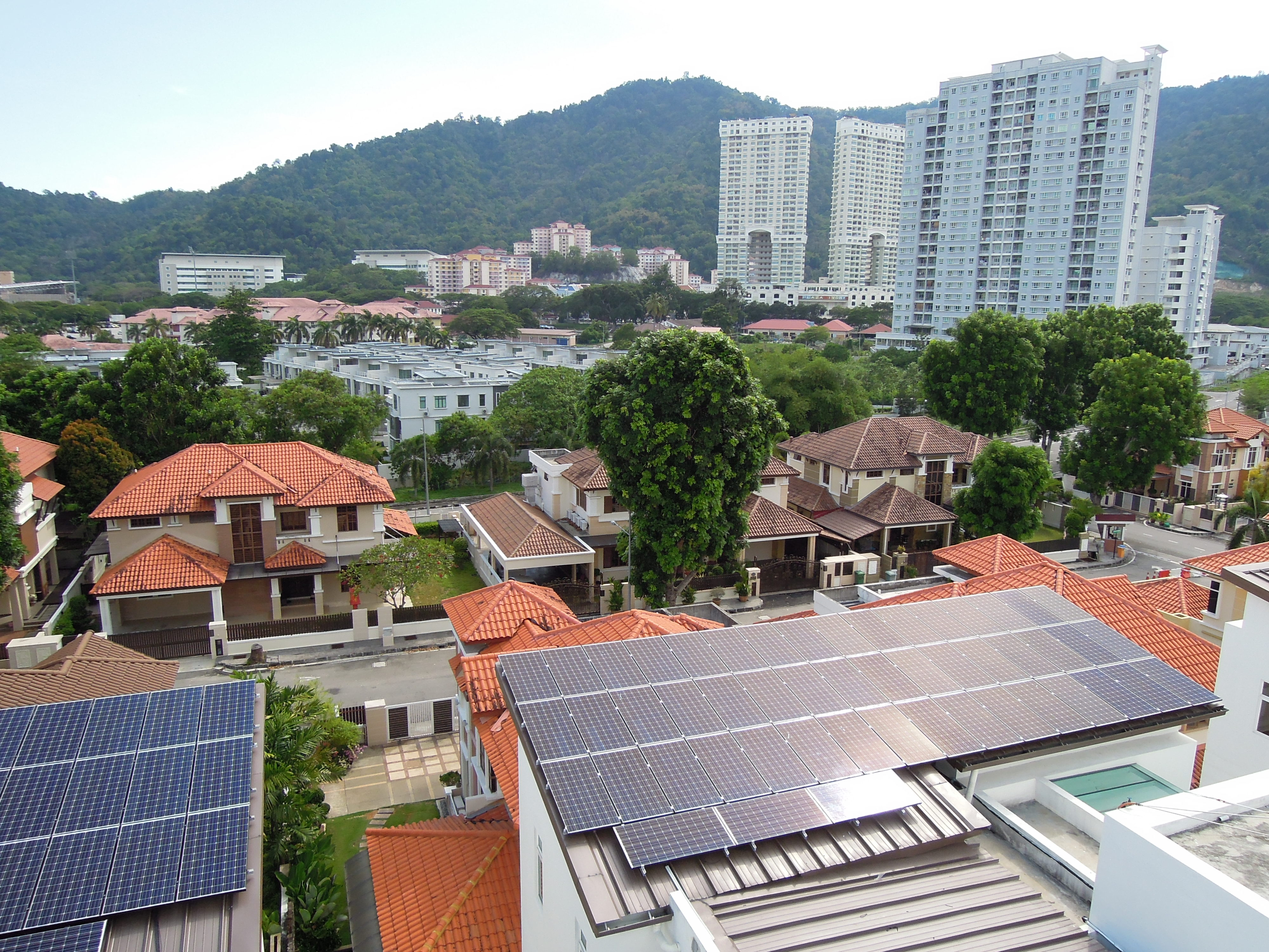 Solar Roof Residential Minden Height Penang 12kW