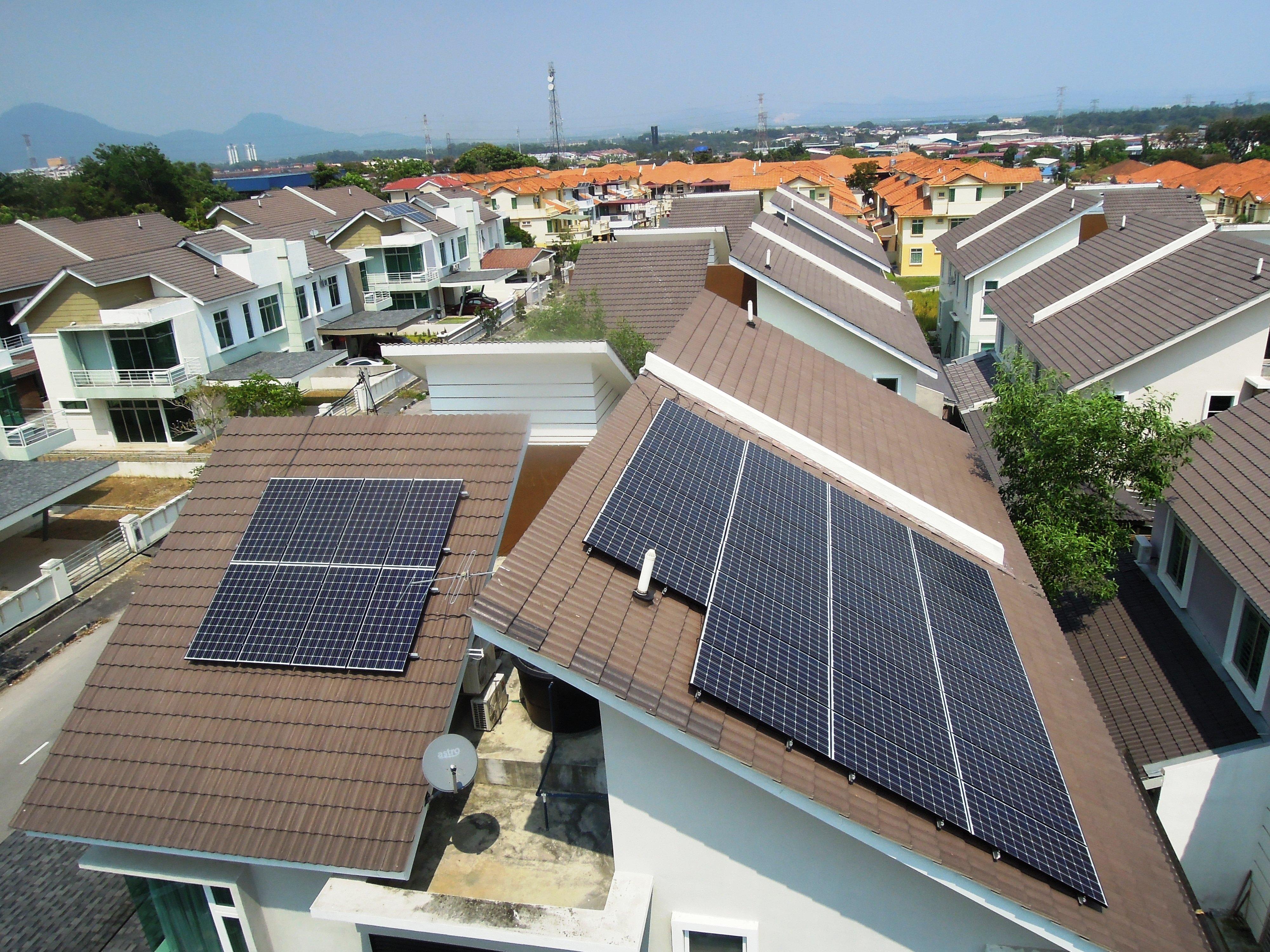 Solar Roof Residential Juru Penang 10kW