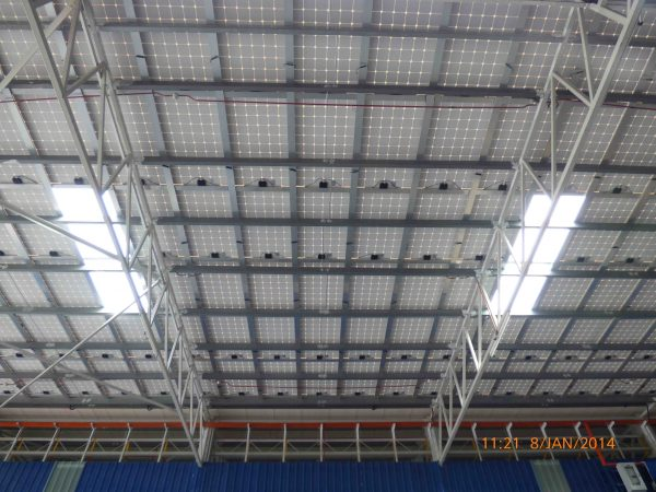 Solar BIPV Skylight UWC Electric Bukit Minyak Penang 72kW