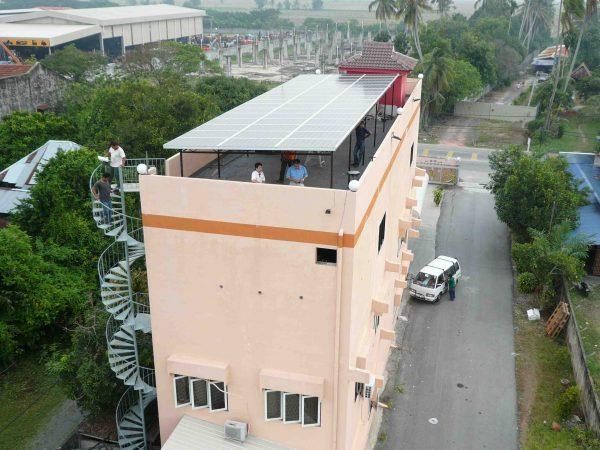 Solar PV Food Factory Kepala Batas Penang 12kW