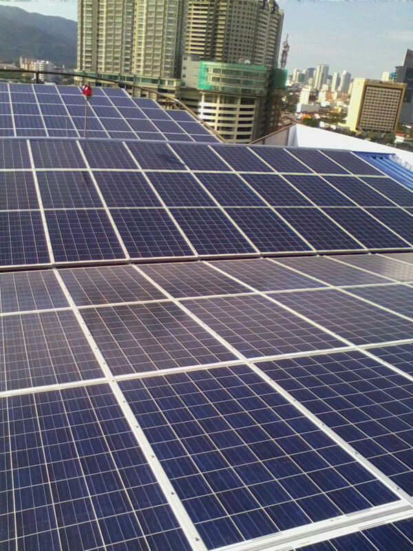 Solar BIPV Residence Gurdwara Road Private Condo 44kW