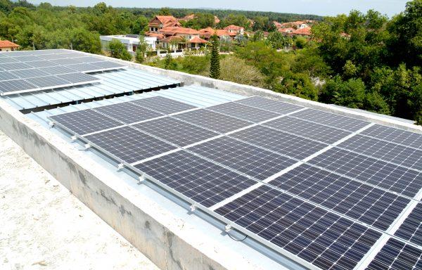 Solar Roof Residence Bungalow Homestay Bertam Penang 24kW