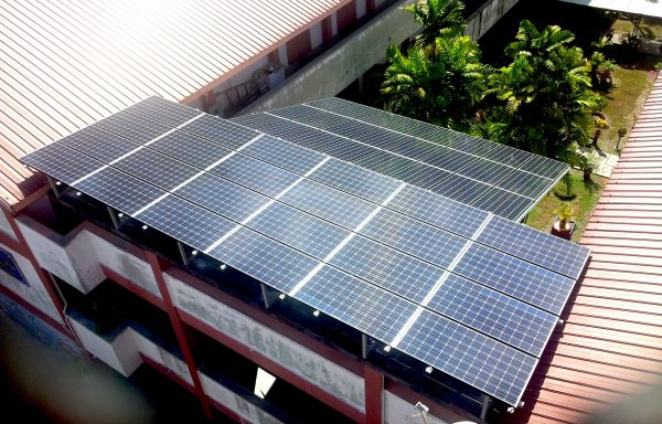 Solar BIPV Community CSR Project School Ipoh 12kW