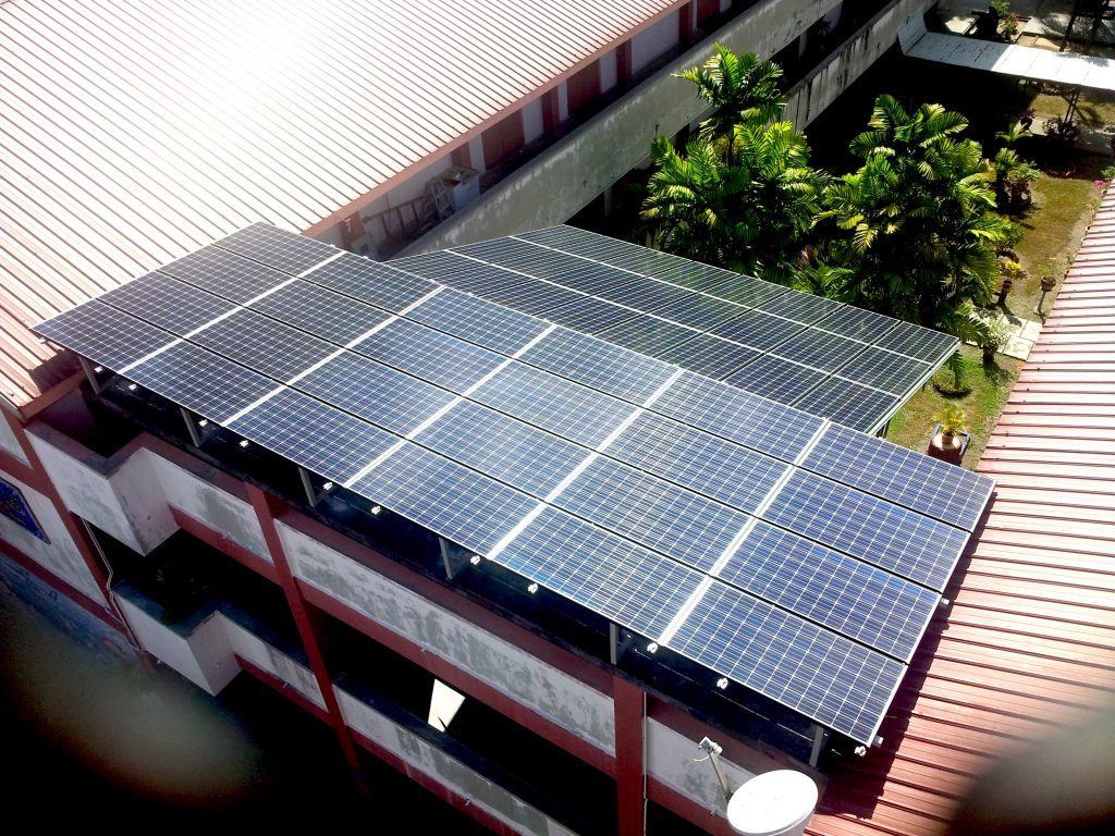 School at Ipoh Perak using Solar Roof PV System