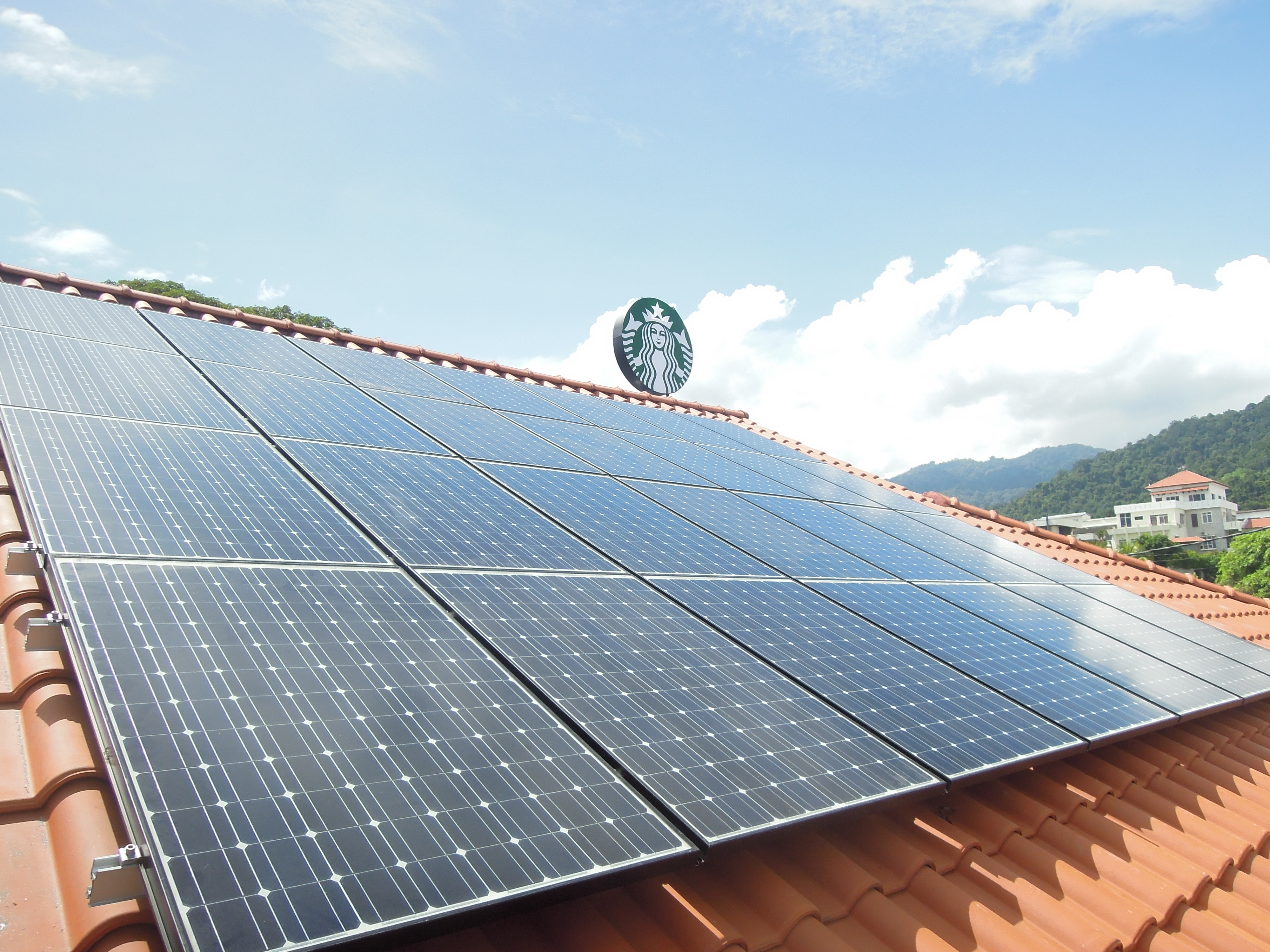 Solar PV Starbucks Drive Through Tanjung Tokong Penang 6kW