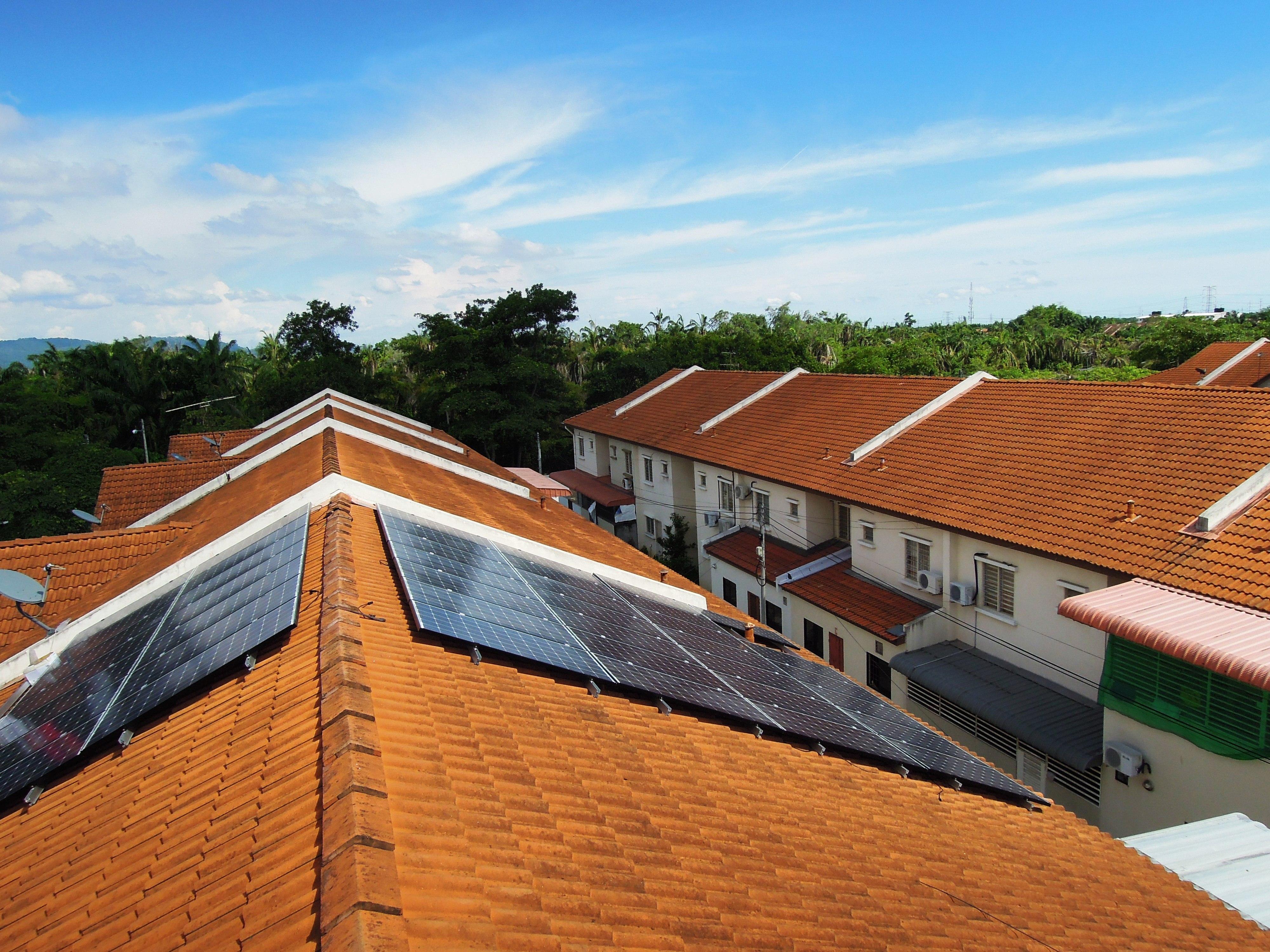 Solar Roof Residential Bukit Mertajam Penang 12kW
