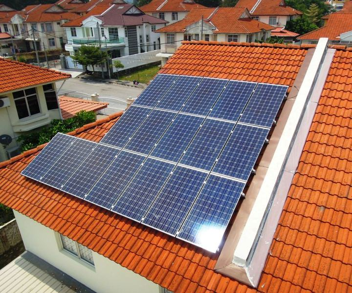 Solar Roof Residential Batu Maung Penang