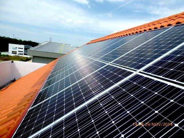 Solar BIPV Yongyang Commercial Office Prai Penang 7kW
