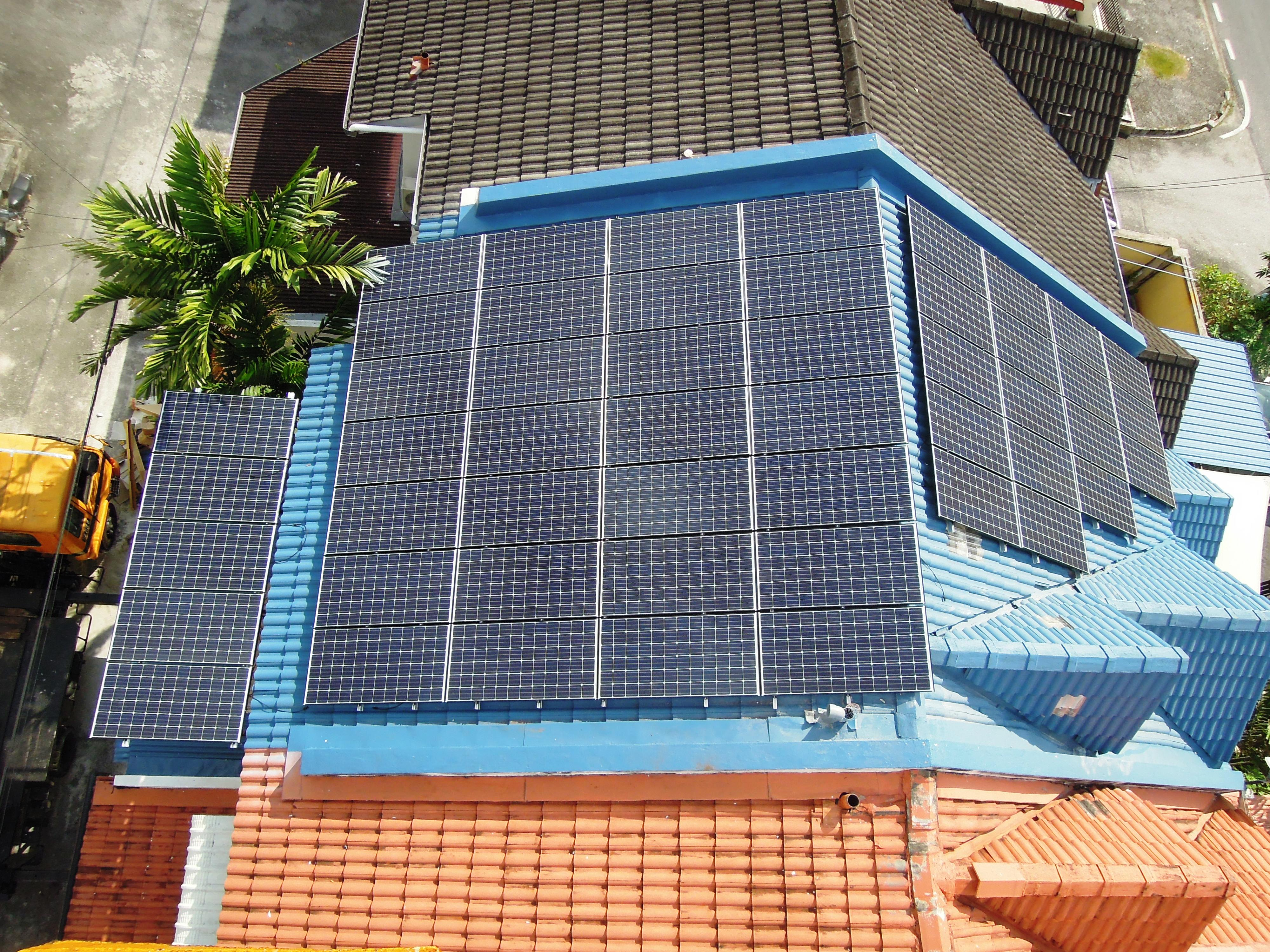 Solar Commercial Air Itam Office Penang 12kW