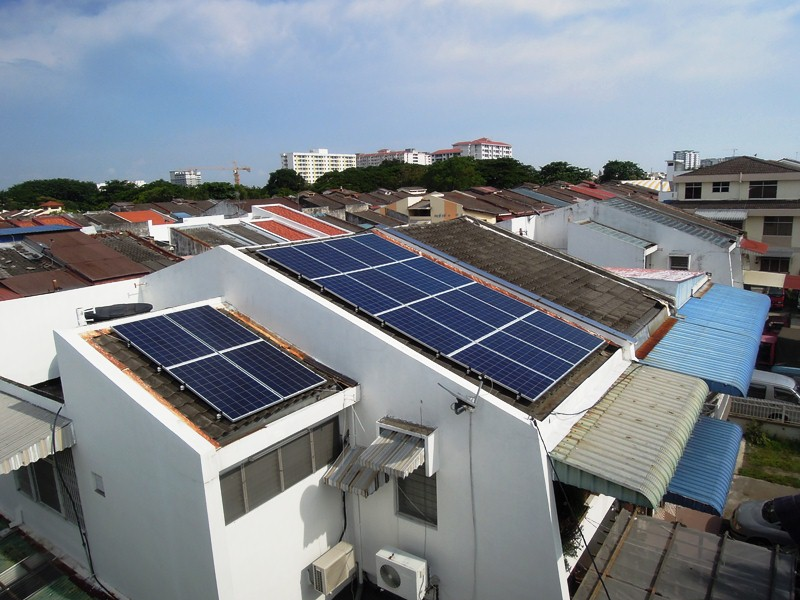 Solar Roof Residence Butterworth Penang 12kW