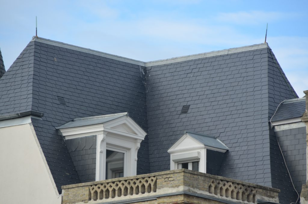 French villa slate roof