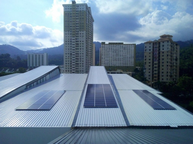 Solar PV MBPP Community Sports Complex Penang 40kW