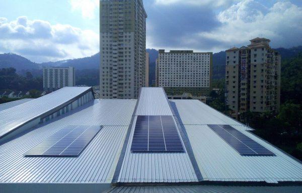 Solar PV MBPP Community Sports Complex Penang 40kW