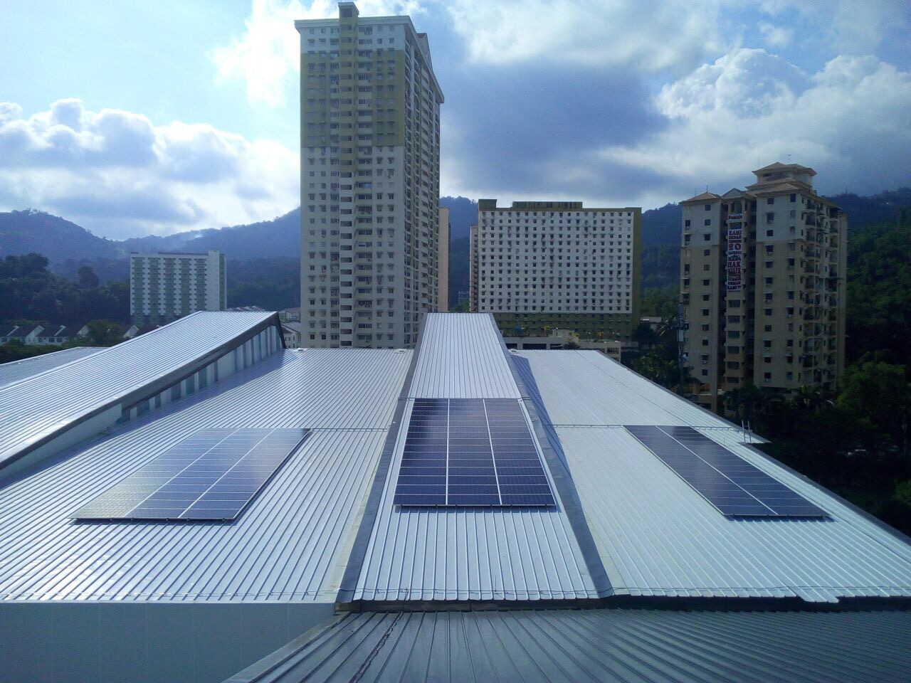 MBPP Relau Sports Complex Rooftop with Solar PV