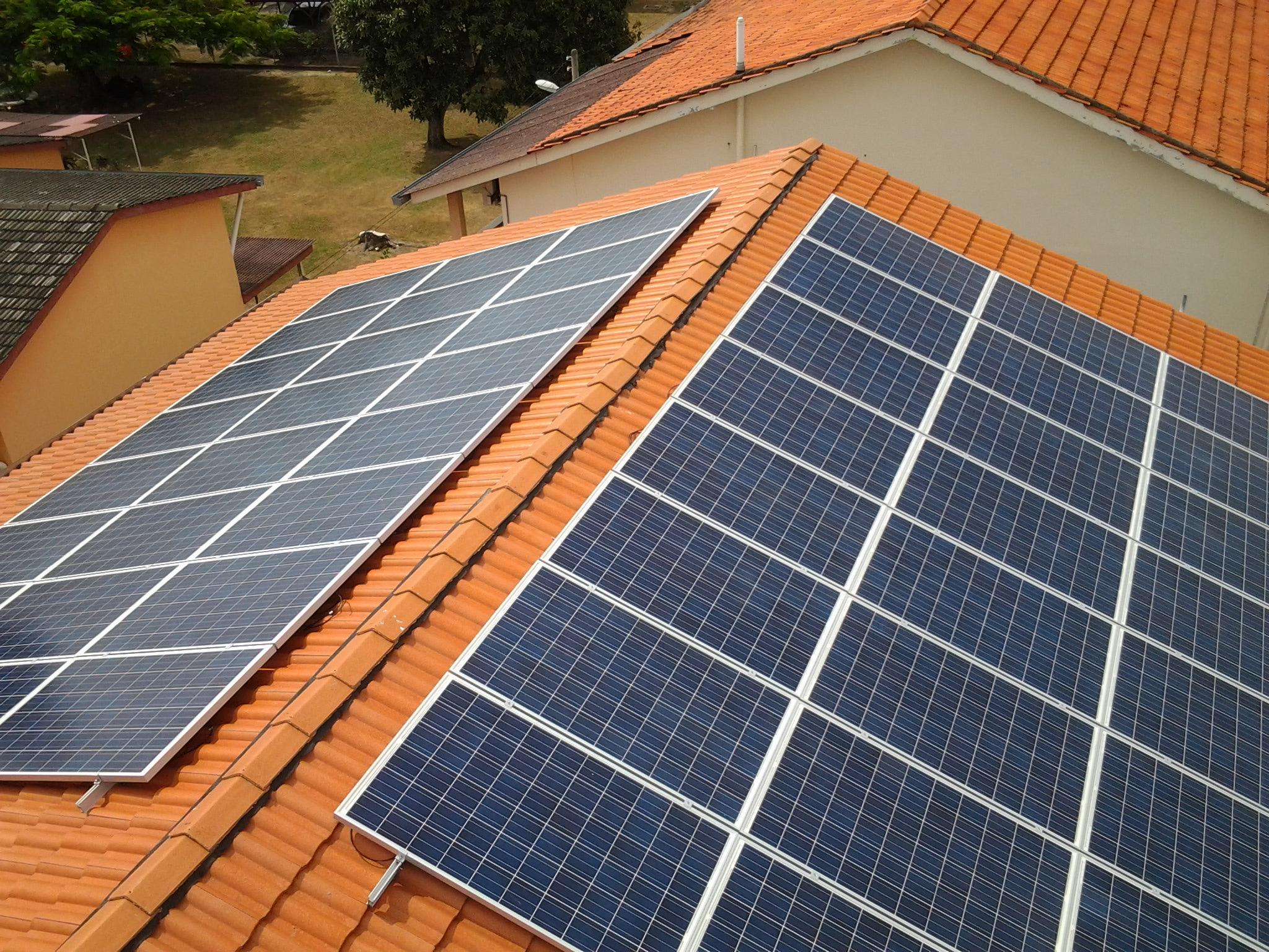Solar Roof Residence Penang Bagan Luar 12kW