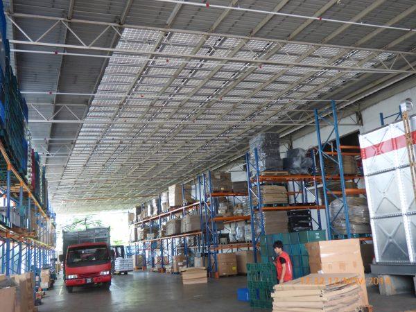 Solar BIPV Guppy Warehouse Bukit Tengah Penang 72kW