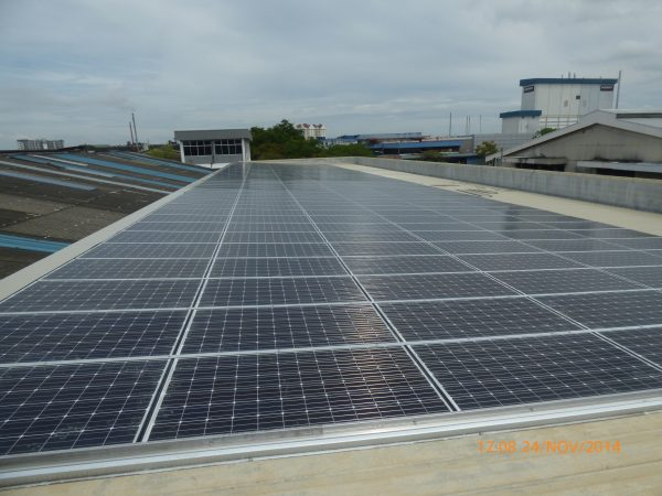 Solar BIPV Warehouse Butterworth Penang 72kW