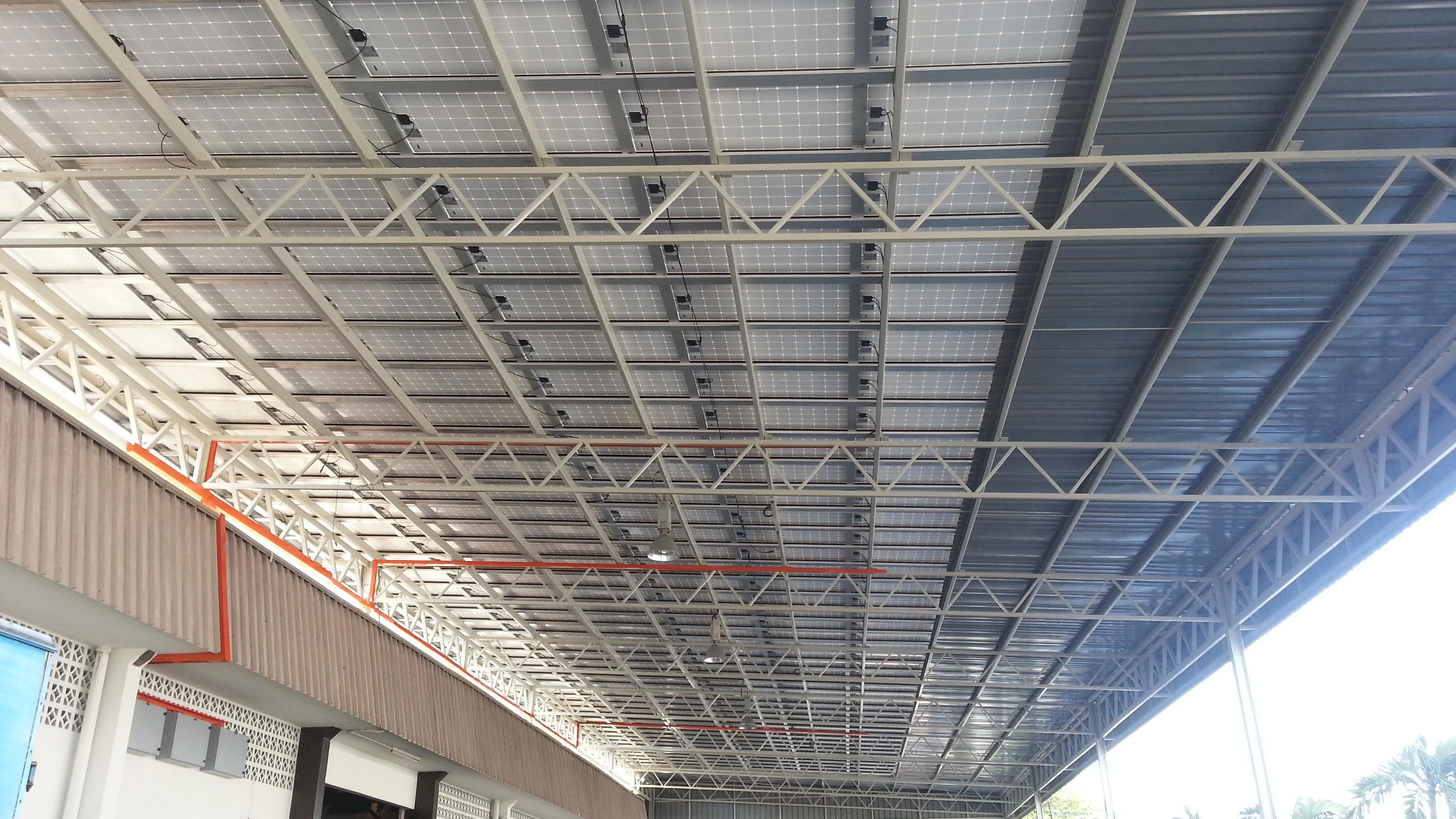 Solar BIPV Factory Warehouse Mak Mandin Penang 72kW