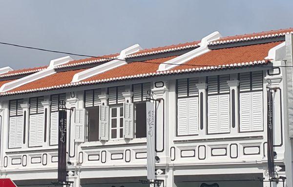 Roof Heritage Ropewalk Penang