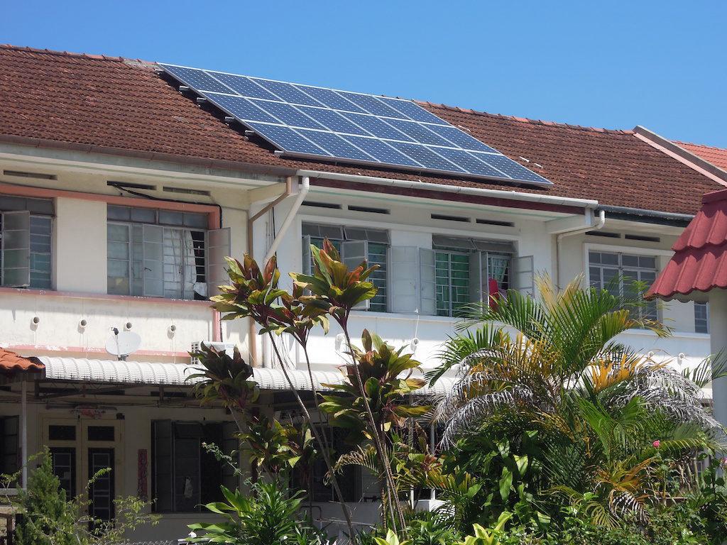 Solar Roof Residence Air Itam Kampung Melayu Penang