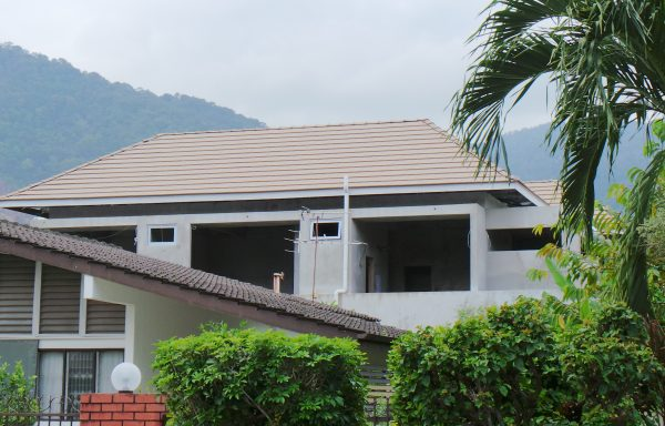 Roof Tejas Borja Brown Flat Roof Tiles Tanjung Bunga Penang