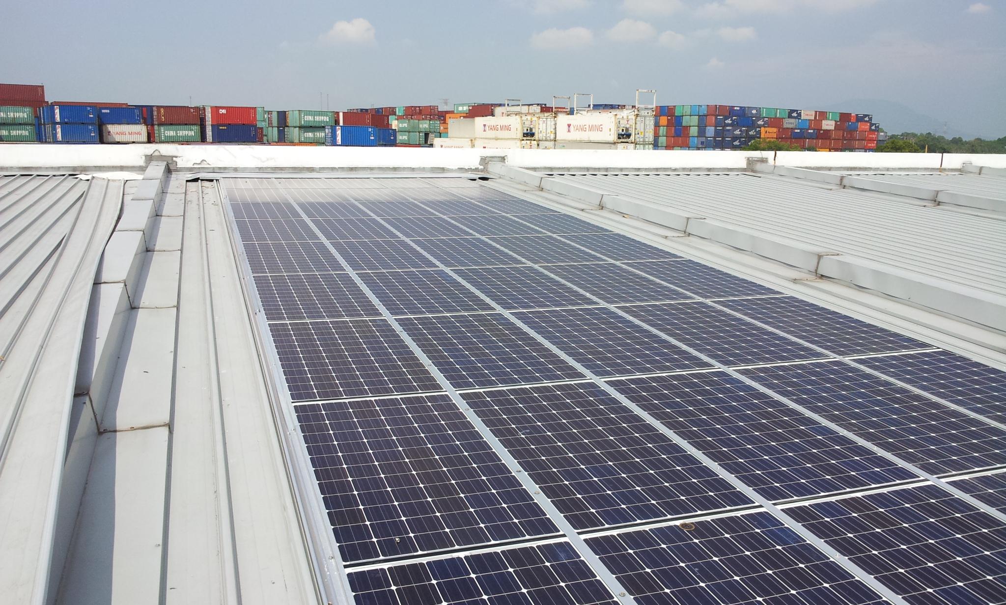 Solar BIPV Commercial Shop Office Bagan Penang 12kW