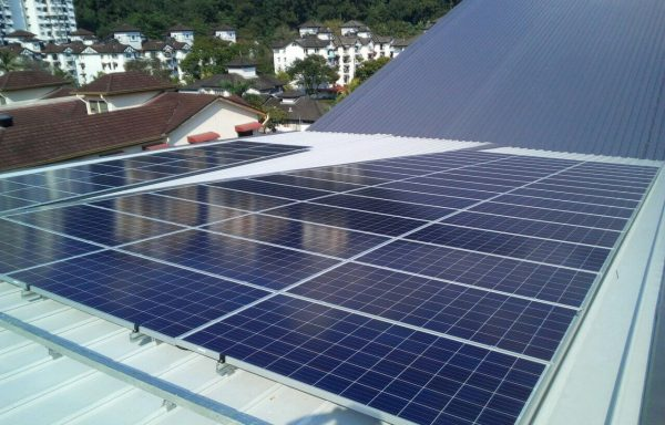 Solar PV Community Relau Sports Complex Penang 40kW