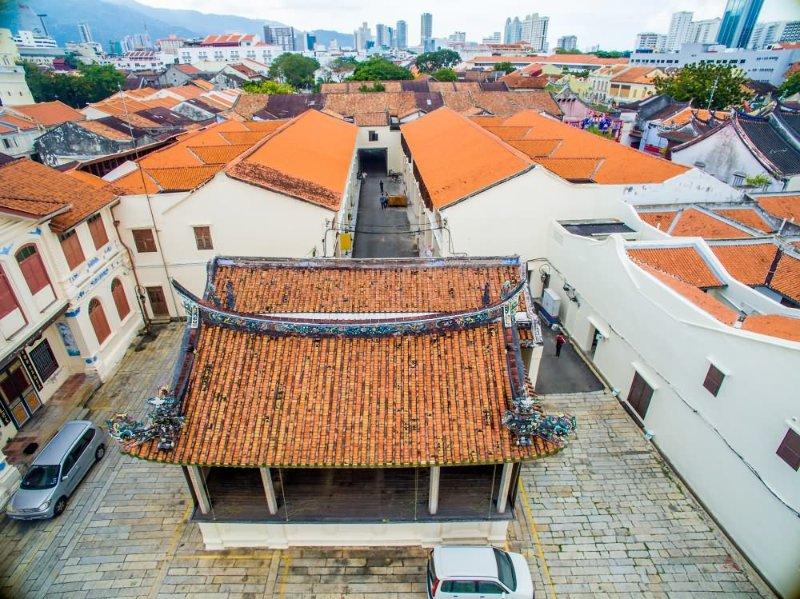 Roof Peranakan 8 Rooftile Khoo Kongsi Georgetown Heritage Penang