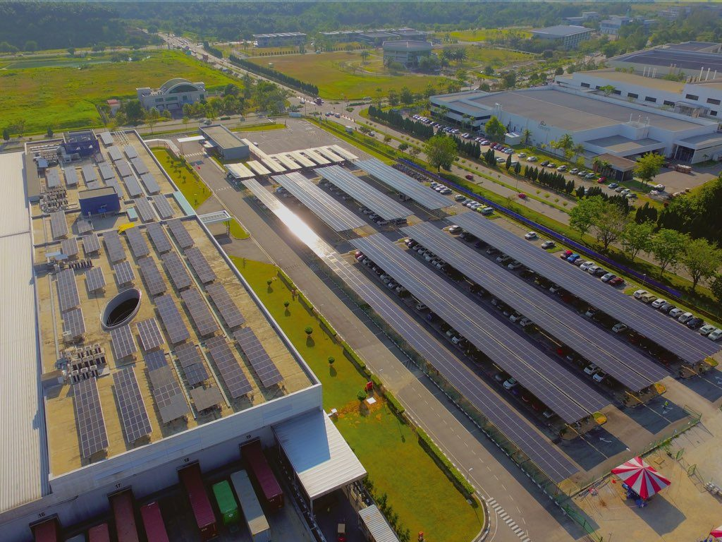 Solar Project on Industrial Factory