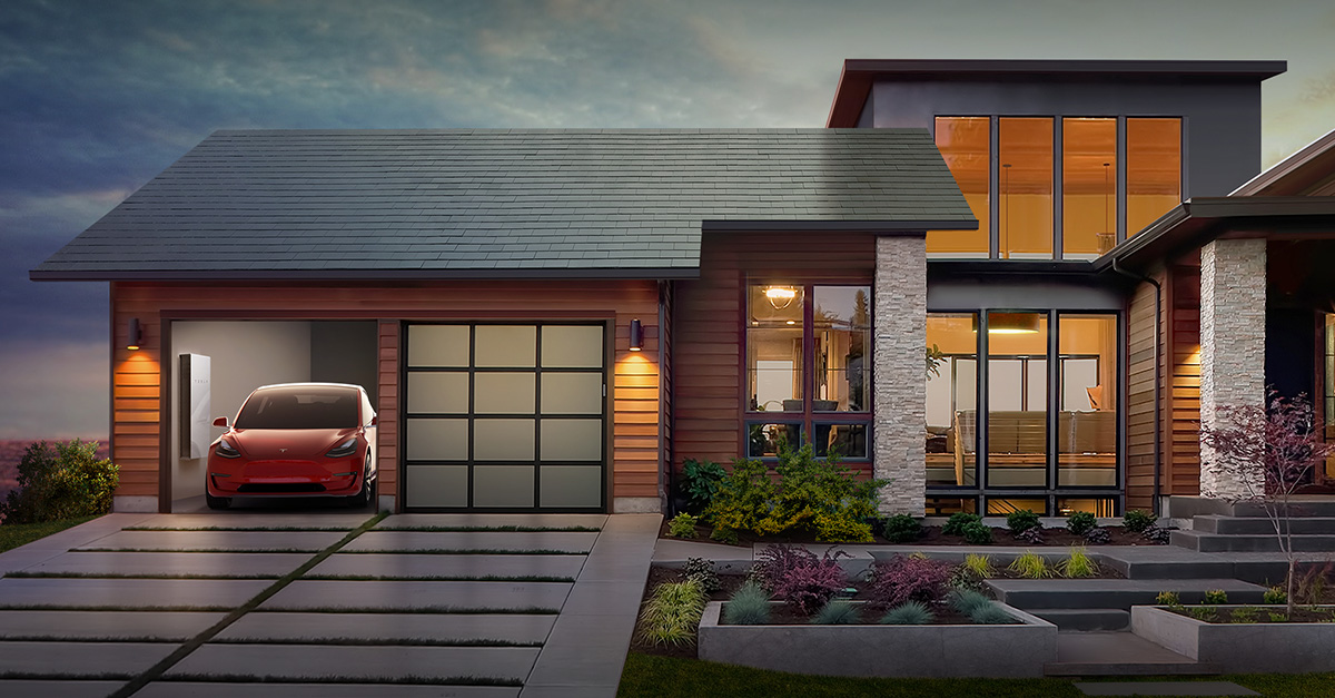Tesla Solar Roof Car Battery EV Charging The Future