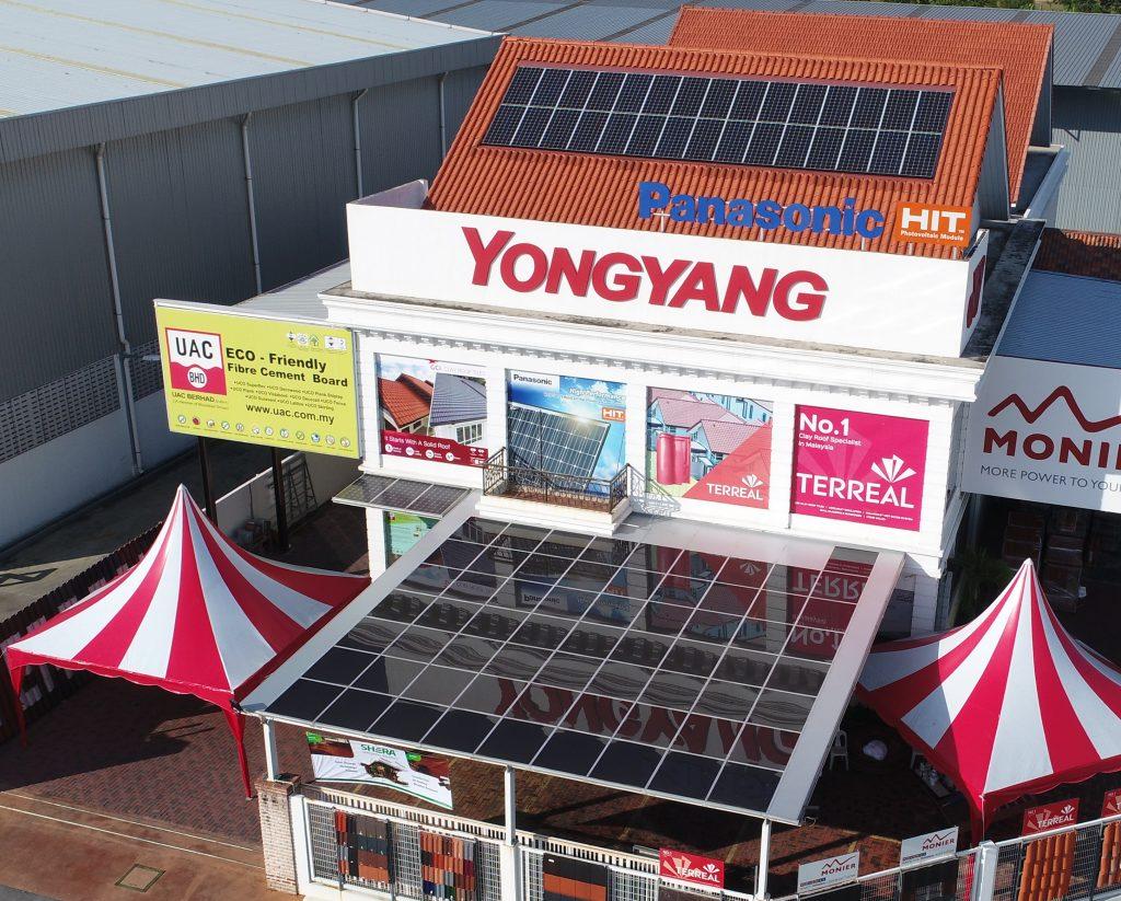 Yongyang Prai Headquarter Solar Roof Solutions