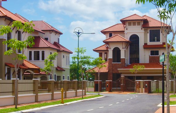 Roof Romane Canal Clay Roof Bayan Mutiara D'Residence Penang