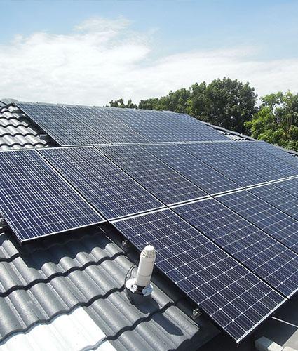 Solar Roof Residence Retrofit