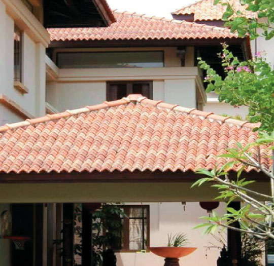 Residential with Heritage Roof Tiles